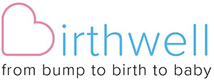 Birthwell with Joan Mills Logo